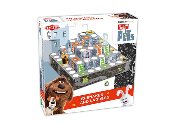 Lauamäng 3D Tsirkus Lemmikloomade salajane elu RO-141707