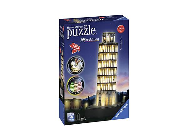 3D pimedas helendav pusle Pisa torn 216 tk RO-142132