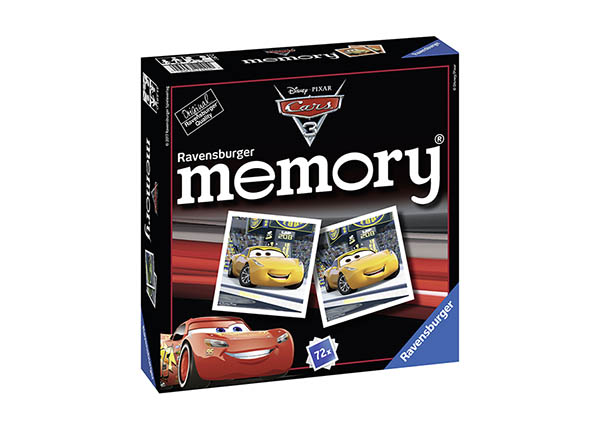 Lauamäng Memory Autod 3 RO-142181