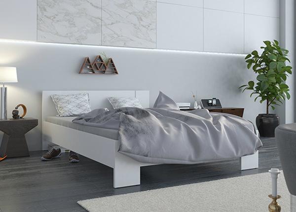Voodi Vega 140x200 cm + madrats Prime Standard Bonell