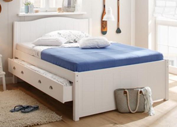 Pesukastiga voodi 90x200 cm FX-142457