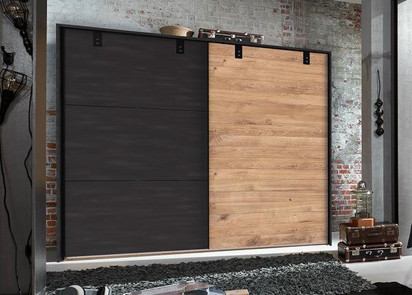 Lükandustega riidekapp Detroit 310 cm + raam SM-142668