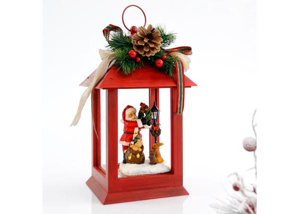 LED jõulukaunistus latern Santa RT-142790