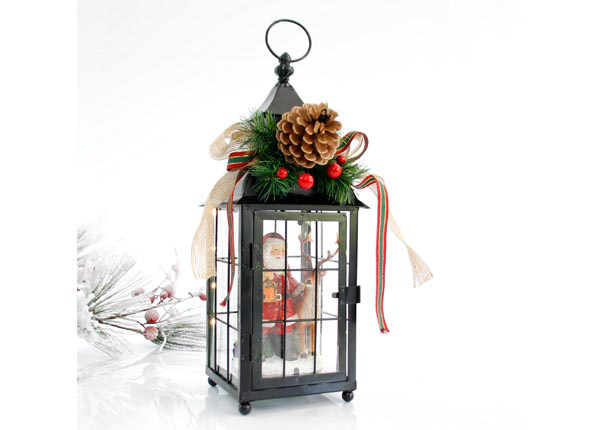 LED jõulukaunistus latern Santa RT-142791