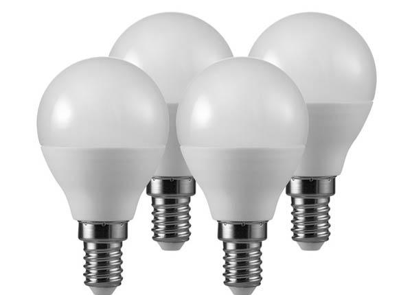 LED elektripirn E14 5,5 W 4 tk