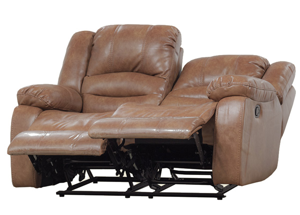 2-kohaline diivan Relax2, helepruun nahk BM-142869