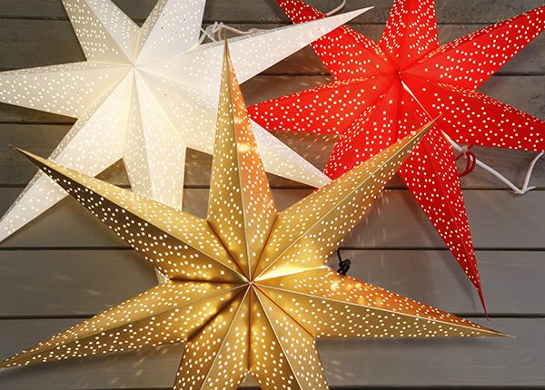 Jõulukaunistus täht Dot 70 cm AA-142906