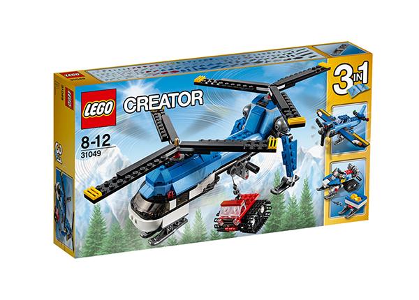 Kaksikrootoriga helikopter Lego Creator RO-142943