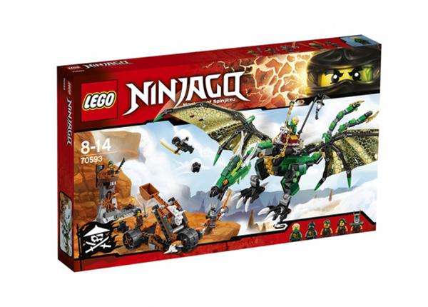 Roheline NRG draakon Lego Ninjago RO-143175