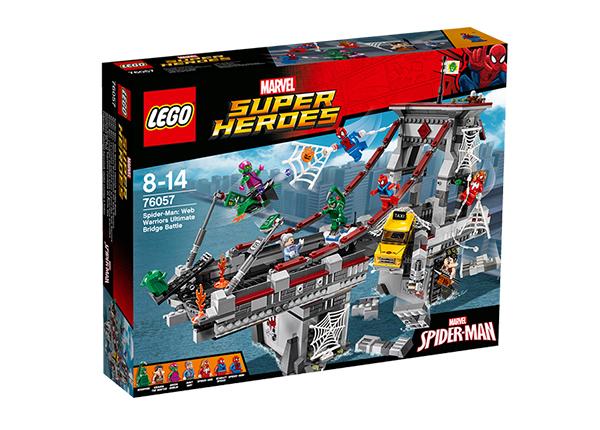 Võrgusõdalaste viimane lahing sillal Lego Super Heroes Spider-Man RO-143177