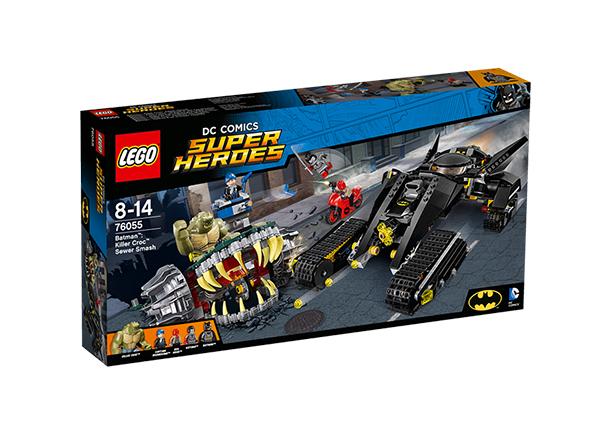 Tapjakrokodill™ – rentslipurustus Lego Super Heroes Batman™ RO-143178