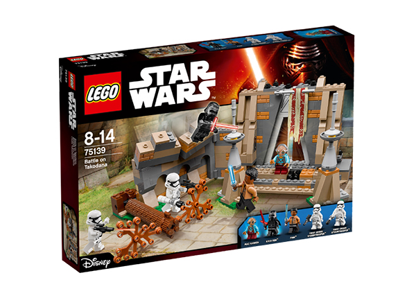 Lahing Takodanas Lego Star Wars RO-143179