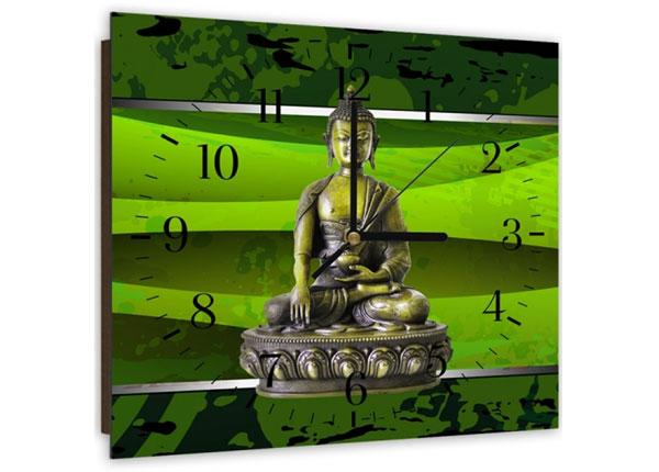 Pildiga seinakell Green buddha ED-144123