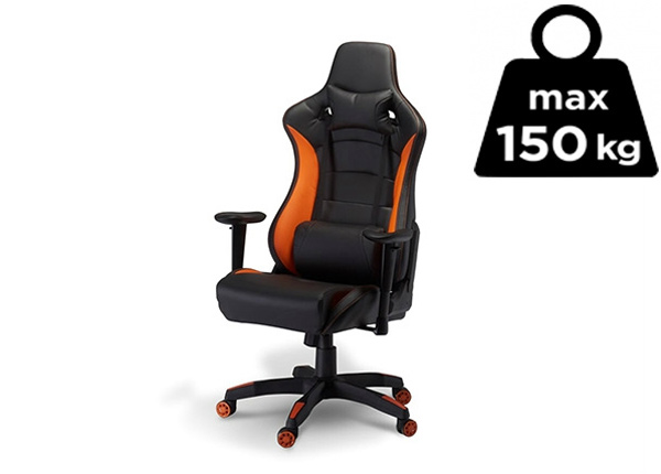 Töötool Gaming de Luxe, must/oranž