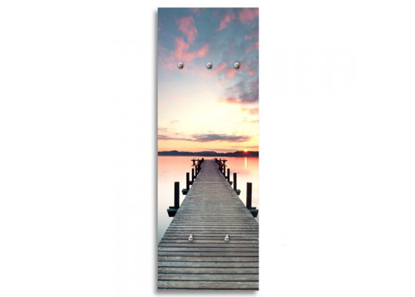 Seinanagi Bridge at sunset