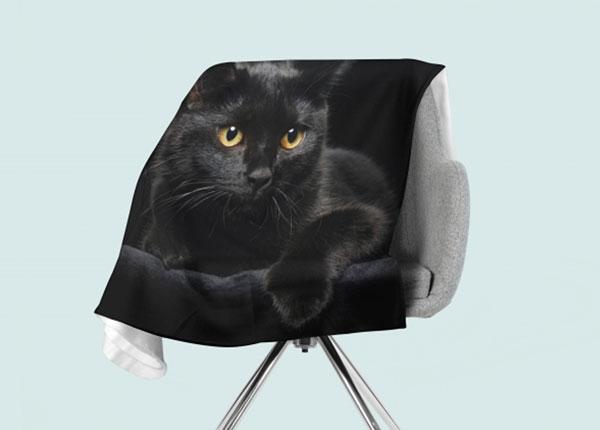 Fliispleed Black Cat 130x150 cm ED-146520