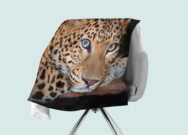 Fliispleed Cheetah Eyes 130x150 cm ED-146529