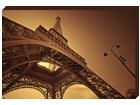 Pilt Canvas - Eiffel Tower in Paris 50x70 cm OG-37739