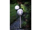 Päikesepaneeliga aiavalgustikomplekt 2 tk AA-38734