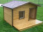 Soojustatud koerakuut terrassiga Rocco TN-39095