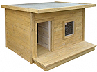 Soojustatud koerakuut terrassiga Boss TN-39104