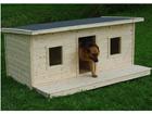 Soojustatud koerakuut terrassiga Charly 2-le koerale TN-39108