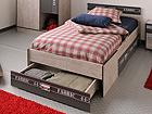 Voodi Fabric 90x200 cm voodisahtliga MA-39731