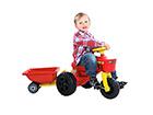 Pedaalidega traktor Plasto RO-39929