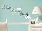 Sisustuskleebis Sweet Dreams Baby RI-41729