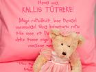Beebide voodipesukomplekt roosa VÄ-41917