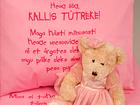 Väikelaste voodipesukomplekt roosa VÄ-41918