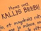 Beebide voodipesukomplekt oranz VÄ-41924