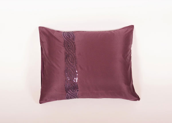Kylie Minogue padjapüür Sequins Wave Plum 50x60 cm TG-42567