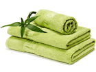 Bambusrätik roheline 70x140 cm AN-43646