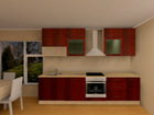 Köök Luisa PLN 300 cm AR-52704
