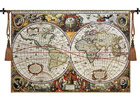 Seinavaip Gobelään Antique World Map 140x97 cm RY-54078