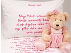 Beebide voodipesukomplekt tüdrukule + tekstiilimarker VÄ-56480