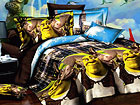 3D voodipesukomplekt Shrek 150x200 cm AB-60298