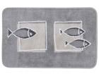 Spirella vaip Andros hall kaladega 55x65 cm UR-61314