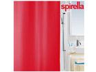 Spirella vannikardin Primo punane tekstiil UR-61367