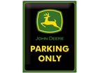 Retro metallposter John Deere Parking Only 30x40cm SG-61689
