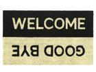 Uksematt Welcome/Goodbye 40x70cm AA-63477