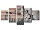 Viieosaline seinapilt New York ED-65518
