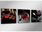 Kolmeosaline seinapilt Vein ED-67545