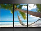 Kolmeosaline seinapilt Palm ED-67567