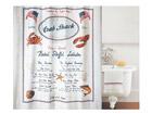 Spirella tekstiilist vannikardin Crab Snack UR-67749