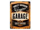 Retro metallposter Harley-Davidson Garage 30x40cm SG-68162
