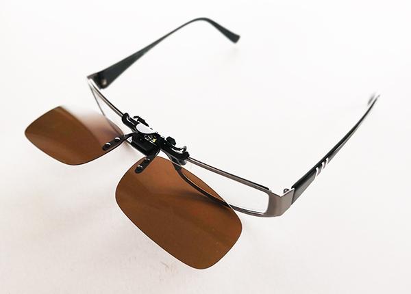 Polariseeritud pruunid läätsed prillidele MH-68609
