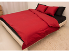 Voodipesukomplekt Red-Black satään 180x210cm AN-69966