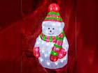 LED tuledega akrüülkuju Suur lumememm HÜ-70976